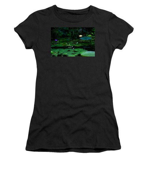 Water Lilies In The Pond Women's T-Shirt