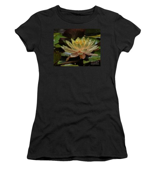 Water Lilly 1 Women's T-Shirt (Athletic Fit)