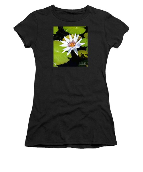 Water Lily 10 Women's T-Shirt (Athletic Fit)