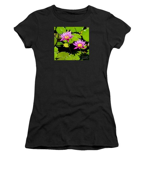 Water Lily 11 Women's T-Shirt (Athletic Fit)