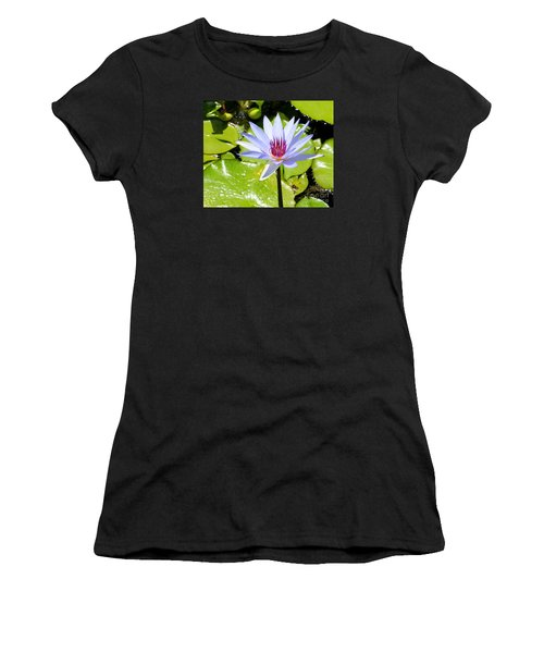 Water Lily 4 Women's T-Shirt (Athletic Fit)