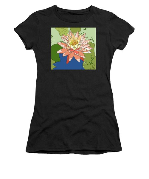 Water Lily And Duck Weed Women's T-Shirt (Athletic Fit)