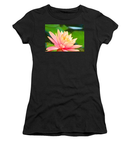 Floating Water Lily  Women's T-Shirt