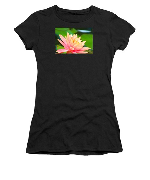 Water Lily In Pond Women's T-Shirt (Athletic Fit)