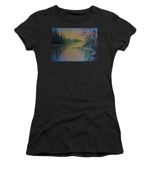 Water Scene 2a Women's T-Shirt (Athletic Fit)