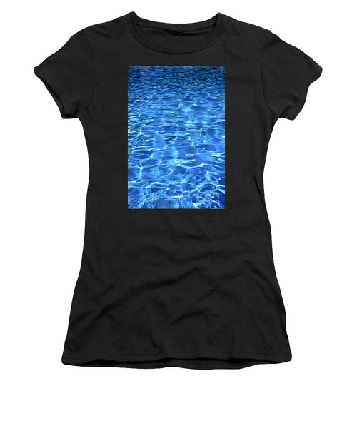 Water Shadows Women's T-Shirt (Athletic Fit)
