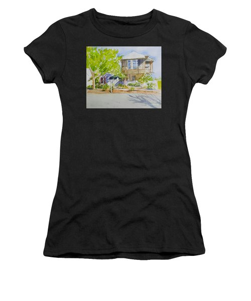 Water Street, Rosemary Beach Women's T-Shirt (Athletic Fit)