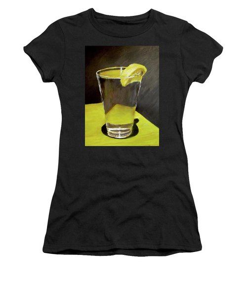 Water With A Lemon...please Women's T-Shirt (Athletic Fit)