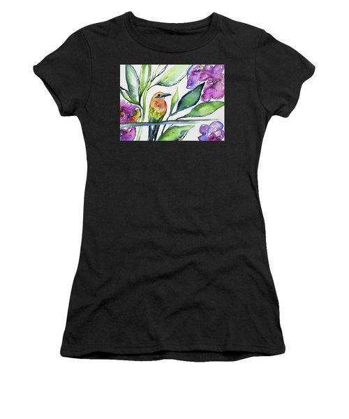 Watercolor - Rufous Motmot Women's T-Shirt