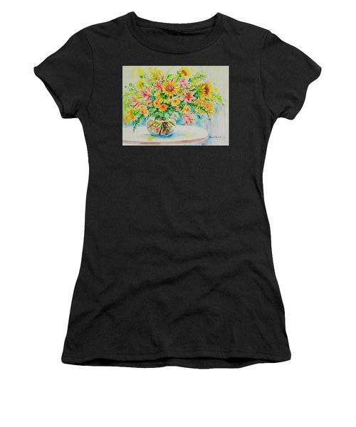 Women's T-Shirt featuring the painting Watercolor Series 185 by Ingrid Dohm
