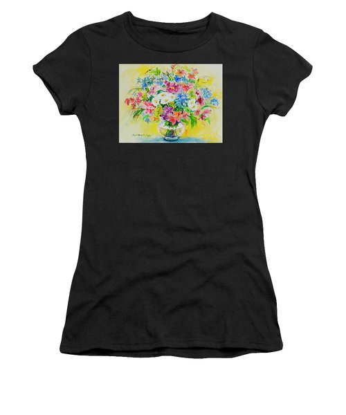 Women's T-Shirt featuring the painting Watercolor Series 188 by Ingrid Dohm