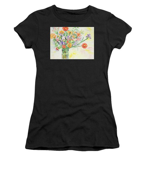 Women's T-Shirt featuring the painting Watercolor Series 6 by Ingrid Dohm