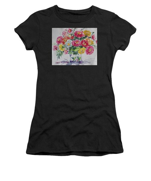 Women's T-Shirt featuring the painting Watercolor Series No .221 by Ingrid Dohm