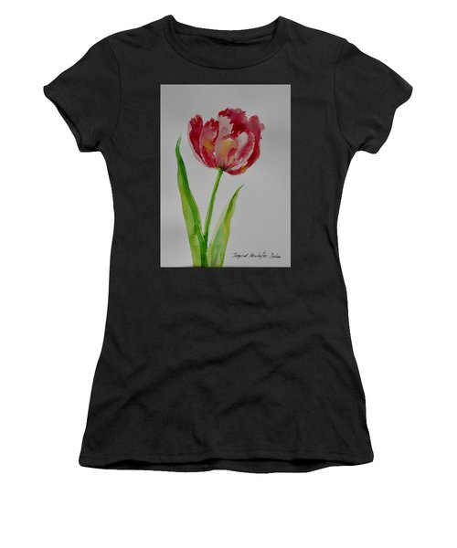 Watercolor Series No.  228 Women's T-Shirt (Athletic Fit)