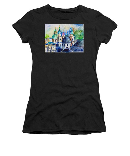 Watercolor Series No. 247 Women's T-Shirt