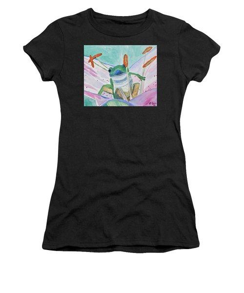 Watercolor - Tree Frog Women's T-Shirt