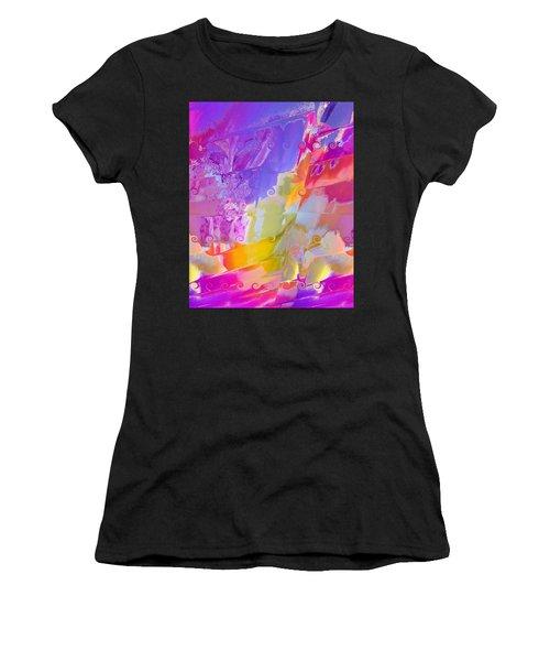 Waterfall Women's T-Shirt (Junior Cut) by Alika Kumar