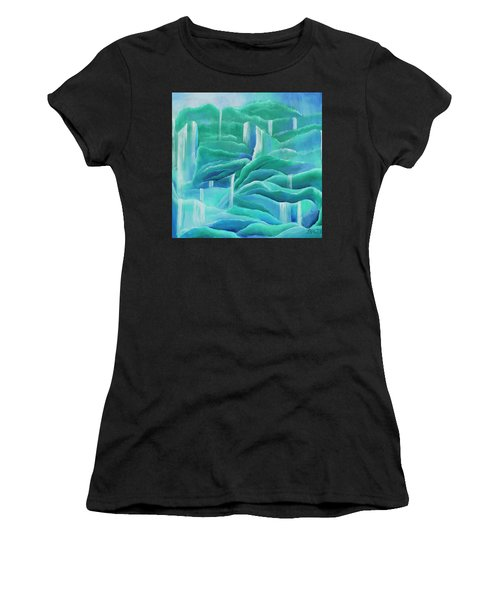 Water Women's T-Shirt (Athletic Fit)