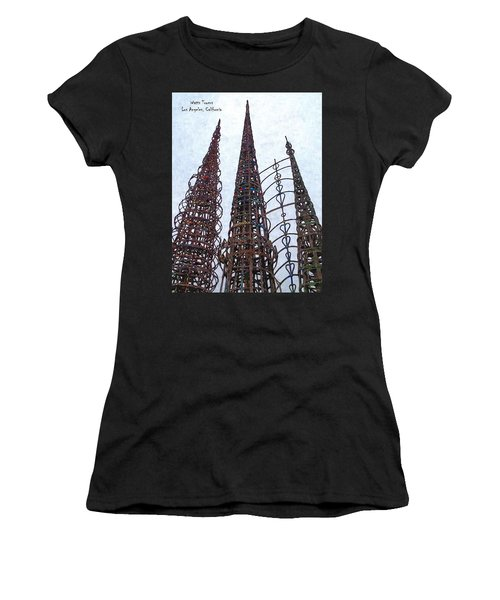 Watts Towers 2 - Los Angeles Women's T-Shirt