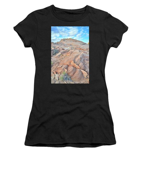 Wave Of Sandstone In Valley Of Fire Women's T-Shirt (Athletic Fit)