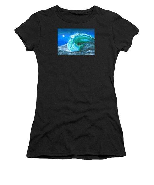 Wave Women's T-Shirt (Athletic Fit)
