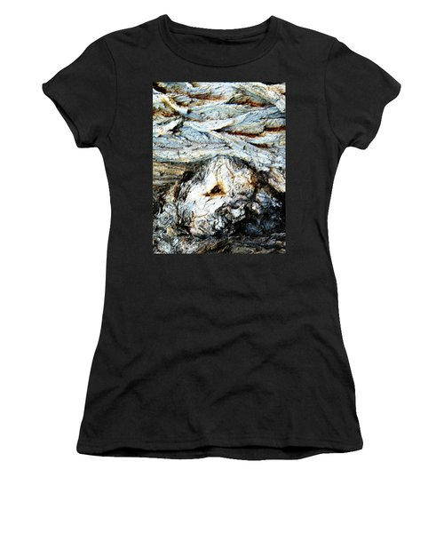 Waves Are My Blanket Women's T-Shirt (Junior Cut) by Lenore Senior