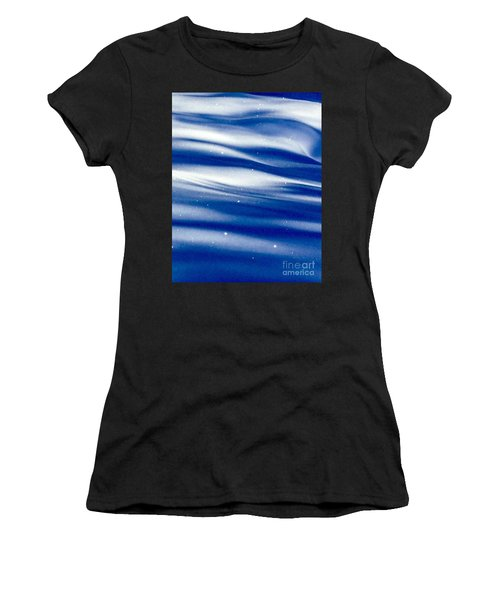 Waves Of Diamonds Women's T-Shirt