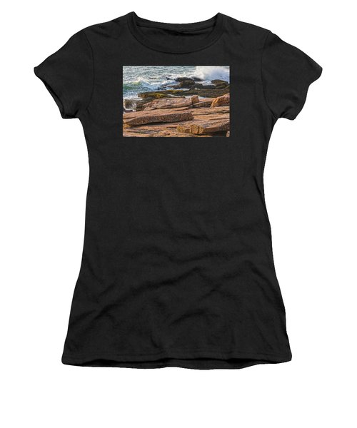 Waves Of Stone Women's T-Shirt (Athletic Fit)