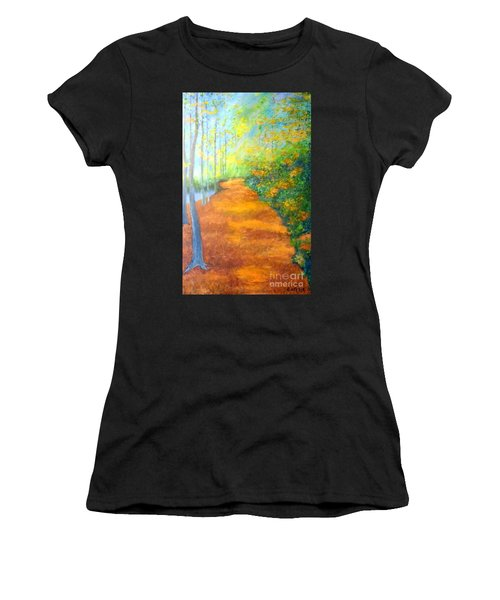Way In The Forest Women's T-Shirt