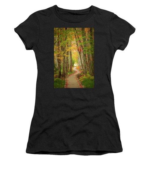 Way To Sieur De Monts  Women's T-Shirt (Athletic Fit)