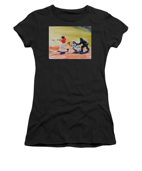 Wcu At The Plate Women's T-Shirt (Athletic Fit)