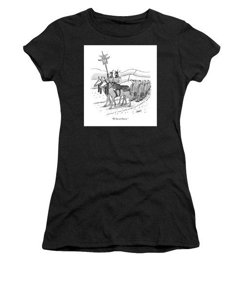 We Sue At Dawn Women's T-Shirt