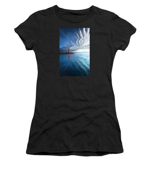 We Wait Women's T-Shirt (Athletic Fit)