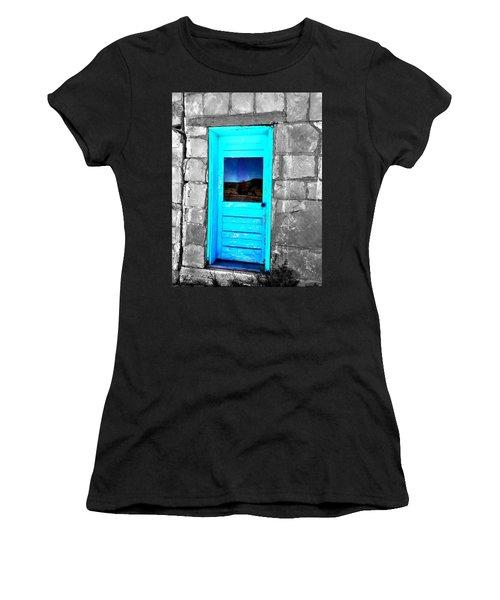 Weathered Blue Women's T-Shirt