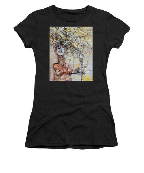 Web Of Memories Women's T-Shirt (Athletic Fit)