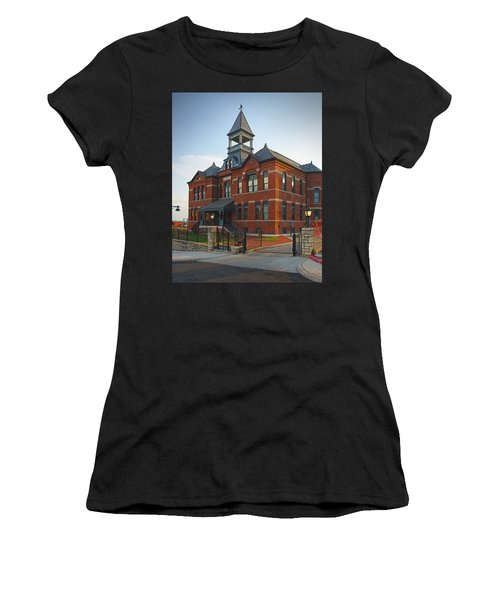 Women's T-Shirt featuring the photograph Webster House by Jim Mathis
