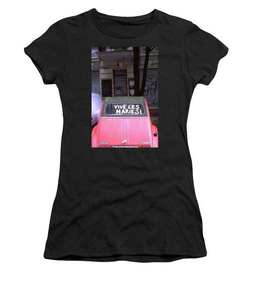 Wedding Car Women's T-Shirt
