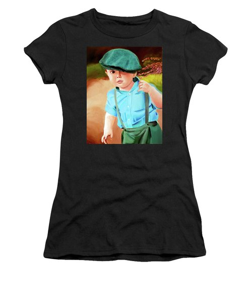 Wee Laddie  Women's T-Shirt (Athletic Fit)