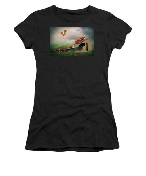 Week-end Bugs Women's T-Shirt (Athletic Fit)