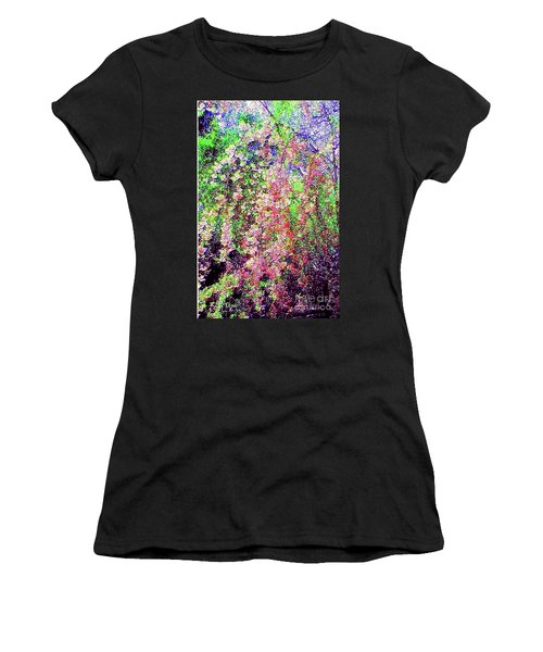 Weeping Cherry Women's T-Shirt (Athletic Fit)