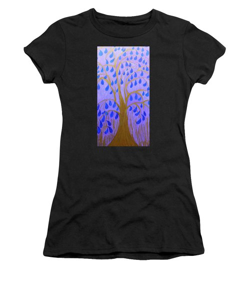 Weeping Tree Women's T-Shirt (Athletic Fit)