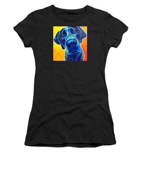 Weimaraner - Bentley Women's T-Shirt (Athletic Fit)