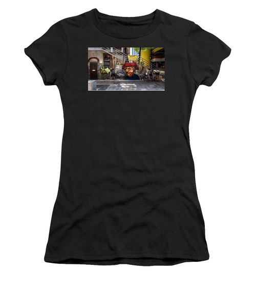 Welcome To Our World  Women's T-Shirt (Athletic Fit)