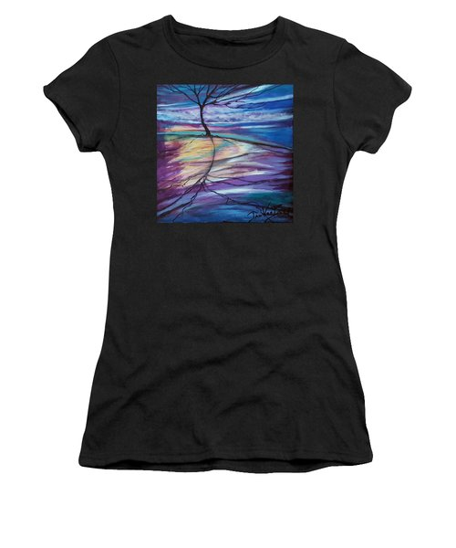 Well Rooted Women's T-Shirt (Athletic Fit)