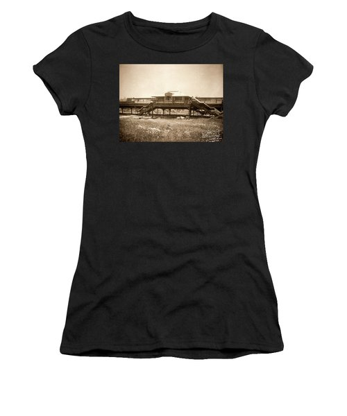 West 207th Street, 1906 Women's T-Shirt (Athletic Fit)