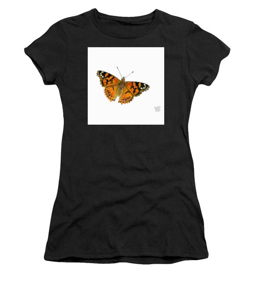 West Coast Painted Lady Butterfly  Women's T-Shirt