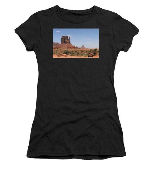 West Mitten Butte Monument Valley Women's T-Shirt