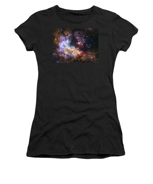 Westerlund 2 - Hubble 25th Anniversary Image Women's T-Shirt