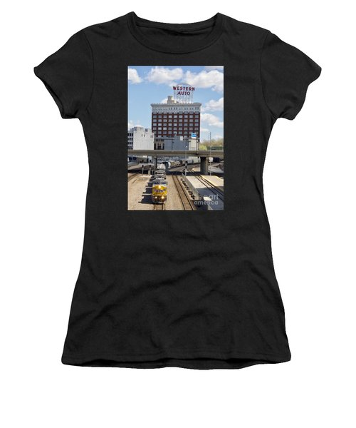 Western And The Union Pacific Women's T-Shirt