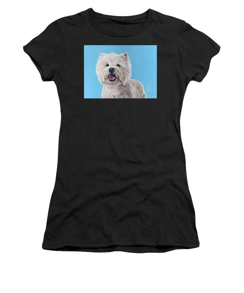 Westie Women's T-Shirt (Athletic Fit)